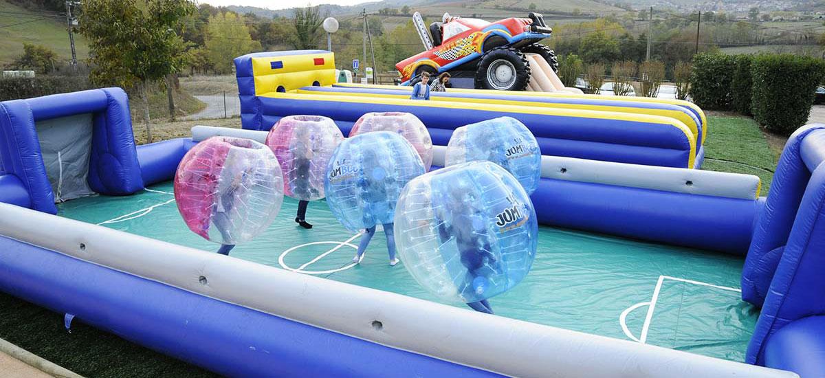 bubble foot karting évasion lyon