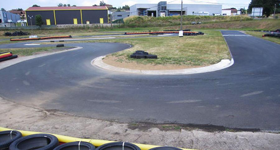 circuit vide karting ain