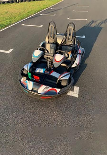 kart biplace karting evasion circuit de bully